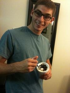 Me crushing an ice cream. No big deal.